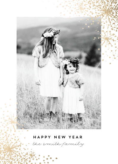 new year's cards - Star Sprinkle by AK Graphics