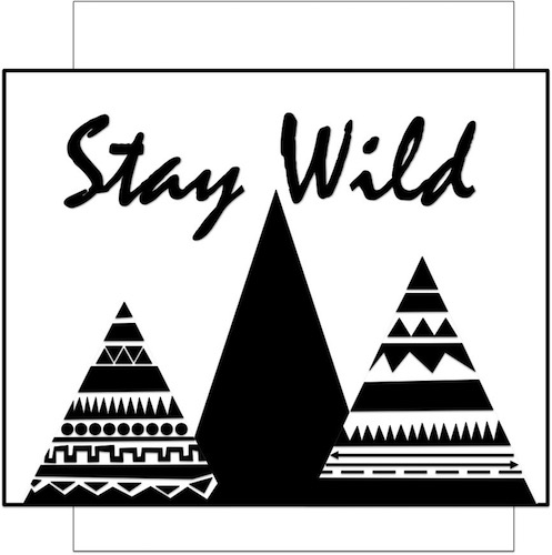 art prints - The Mountains are Wild by SHELLEY COOK