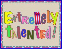 Extremely Talented by SHELLEY COOK