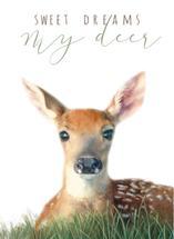 Sweet Dreams My Deer by Sandy Miranda