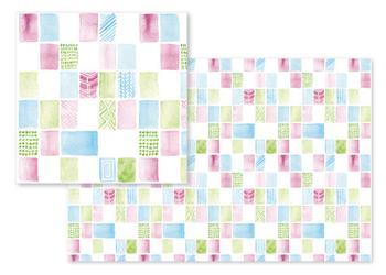 Preppy Watercolor Blocks