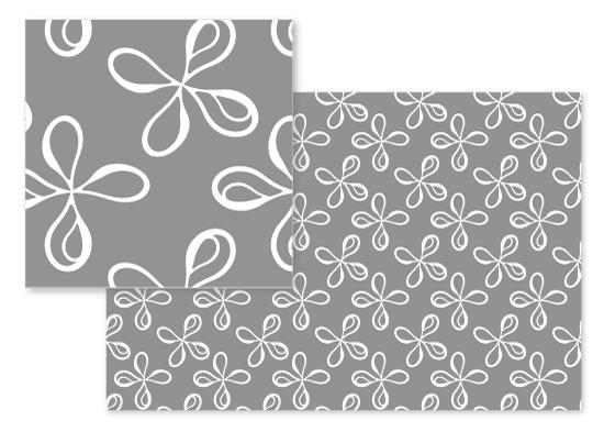 fabric - Modern Petals by Arezo Design Studio