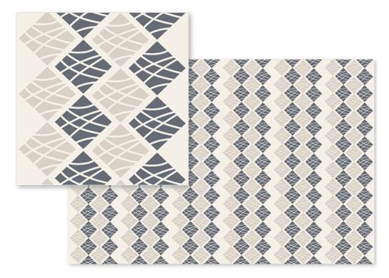 fabric - Magic Squares by Arezo Design Studio