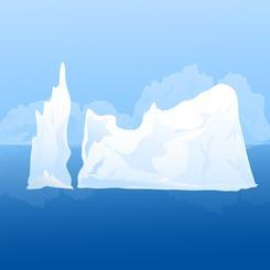 Beauty of Iceberg