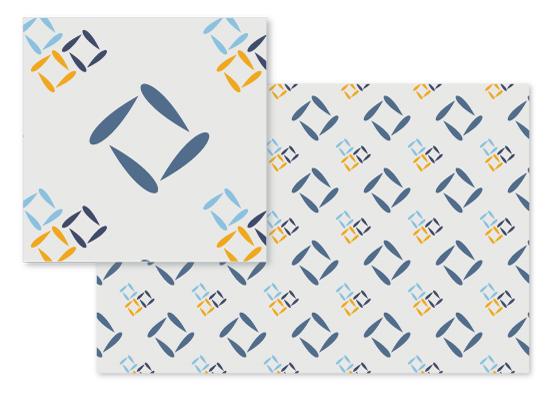 fabric - Going Square by Arezo Design Studio