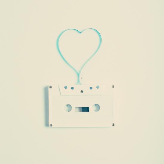 art prints - Tape Heart by Caroline Mint