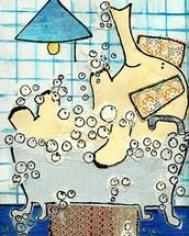 bath time by erin mcgill