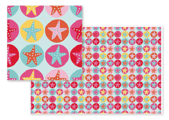 fabric - Beachcomber by Orange Poppy Designs