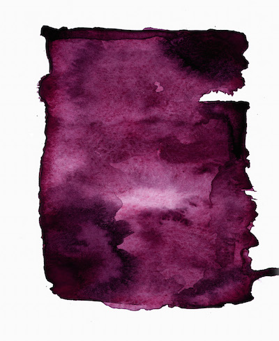art prints - Plum abstract by SherbetPaperCo
