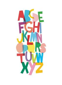 The Colors of the Alphabet