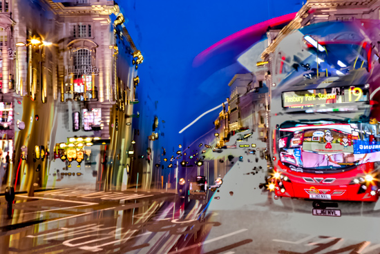 art prints - Piccadilly Dusk IV by Michael Lee