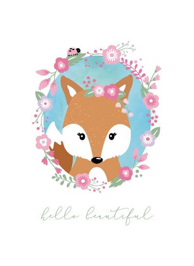 art prints - Hello Beautiful by Sandy Miranda