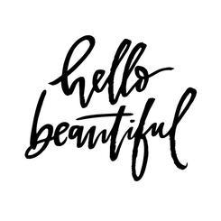 hello beautiful you