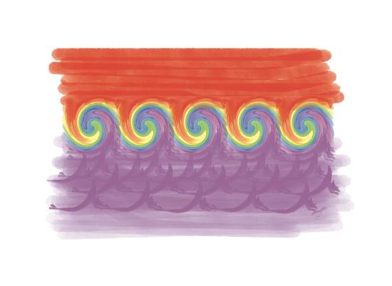 art prints - Cool Waves by jennifer evangelist