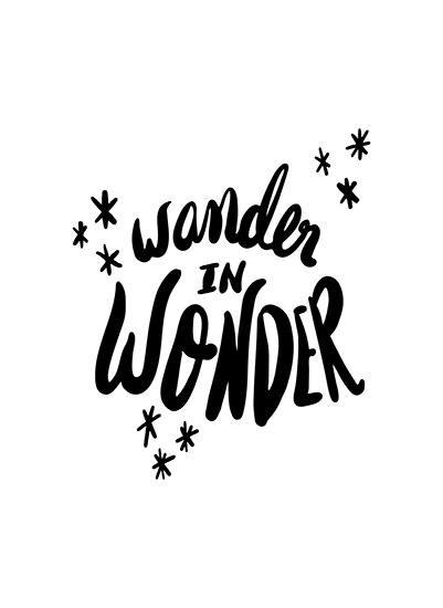 art prints - Wander in Wonder by Alicia Youngken