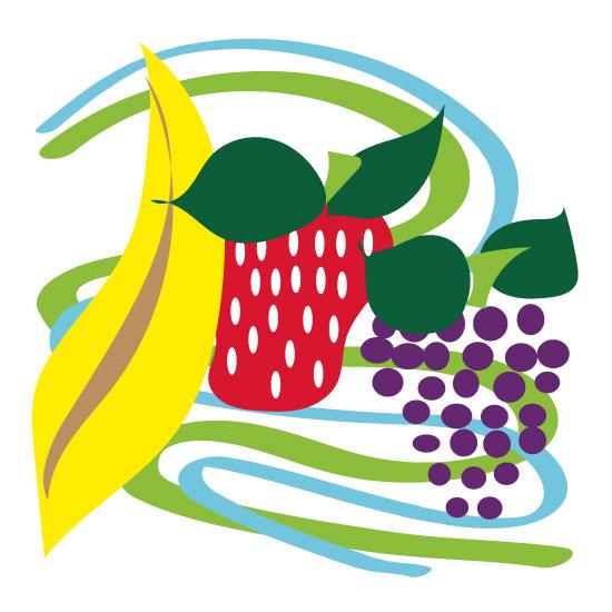art prints - Fruit Cocktail for Kids by Kristen Niedzielski