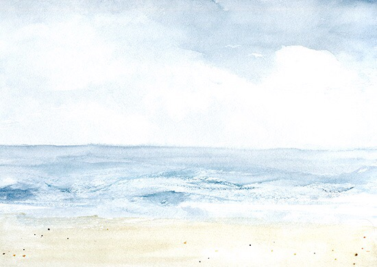 art prints - The Waves by anna hammer