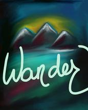 Wander in Abstract by SHELLEY COOK