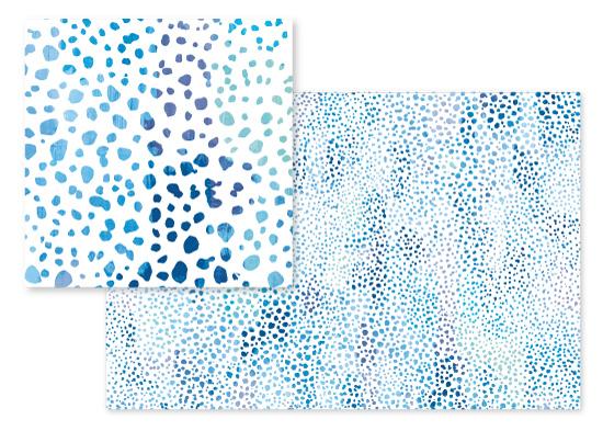 fabric - Sea Pebbles by Hooray Creative