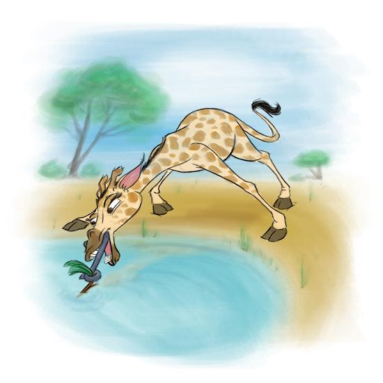 art prints - Determined Giraffe by Joe Apel