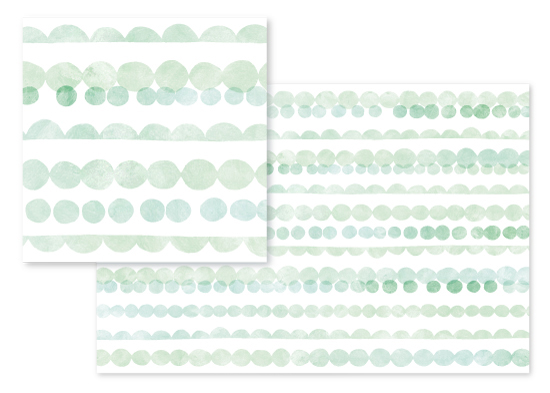 fabric - Bead and Scallop by Hooray Creative