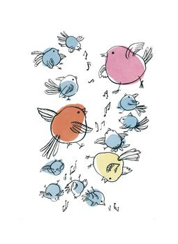 Singing birds