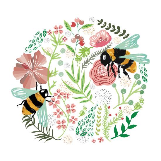 art prints - Bumblebee by peachypch