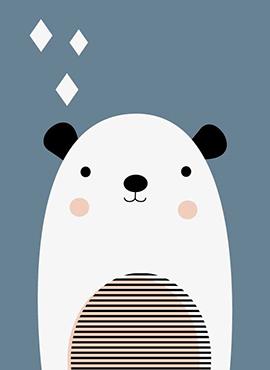art prints - Polar Artic-Bear by Marina Prints_design studio