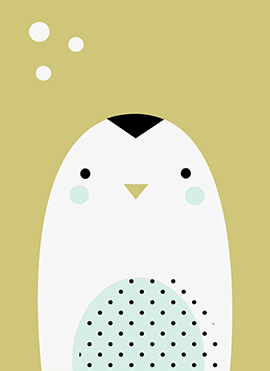 art prints - Polar Artic-Pinguin by Marina González