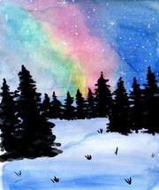 Northern Lights by Kristina Heredia