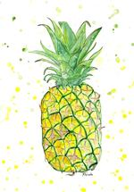 Pineapple Splash by Kristina Heredia