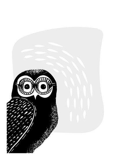 art prints - Life is a Hoot by Alicia Youngken