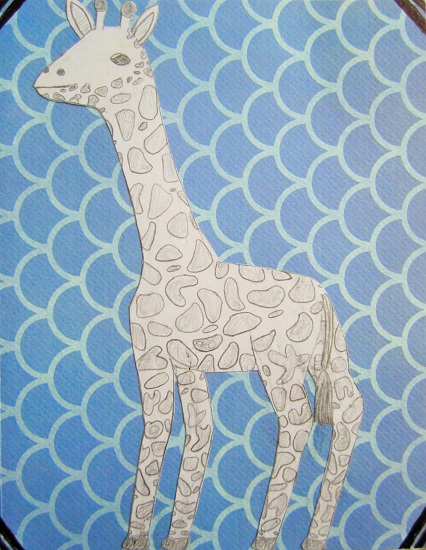 art prints - G-Raffe by Grace Z