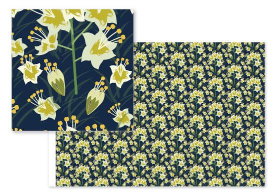fabric - Camas by Jean Calomeni