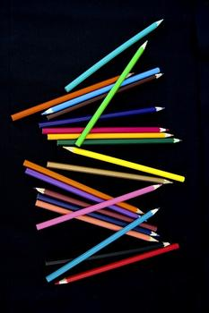 Colorful pick-up-sticks