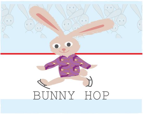 art prints - The Bunny Hop by eva jones