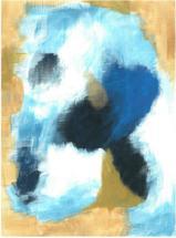 Blue and Gold by Darina Gocheva