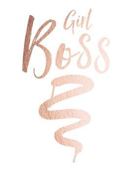 Girl Boss Metallic