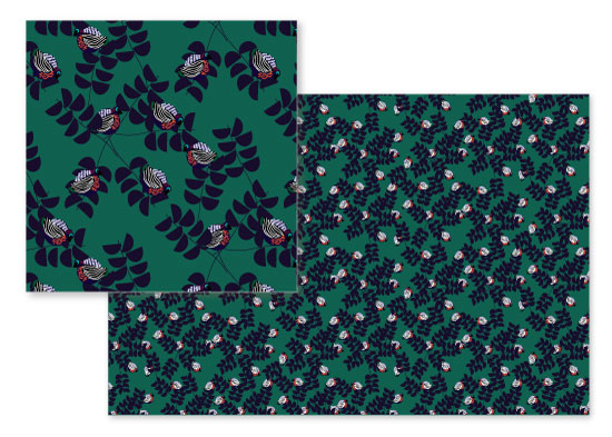 fabric - Forest Darlings by Rachel Eniola Odunsi