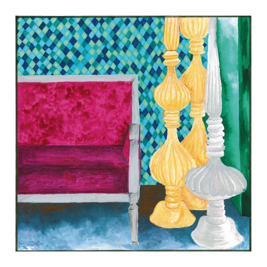 art prints - The royal sofa by Misari
