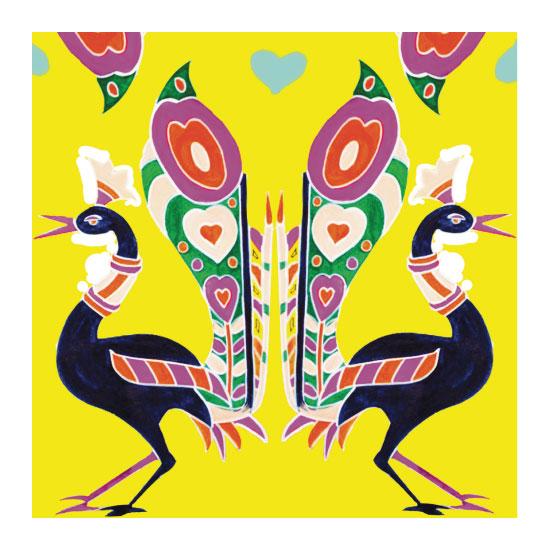 art prints - Mustard love by Misari