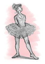 Ballerina Pose 1 by Joe Apel