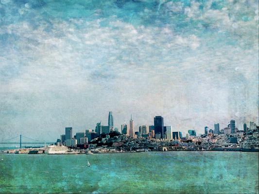 art prints - San Francisco Bay by Regan Daniels