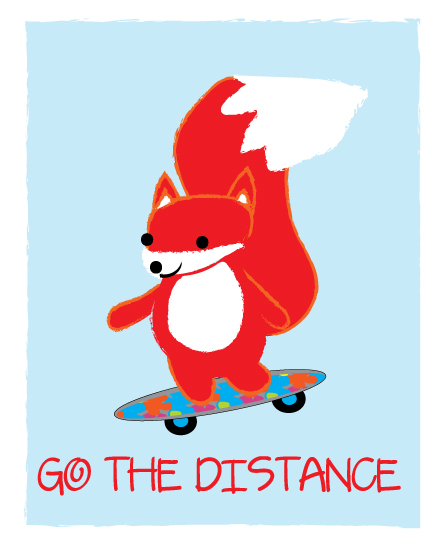 art prints - Go the Distance by eva jones