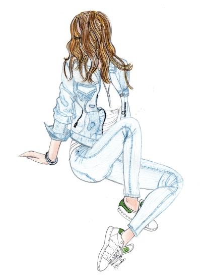 art prints - Summer Blues by Kristina Heredia