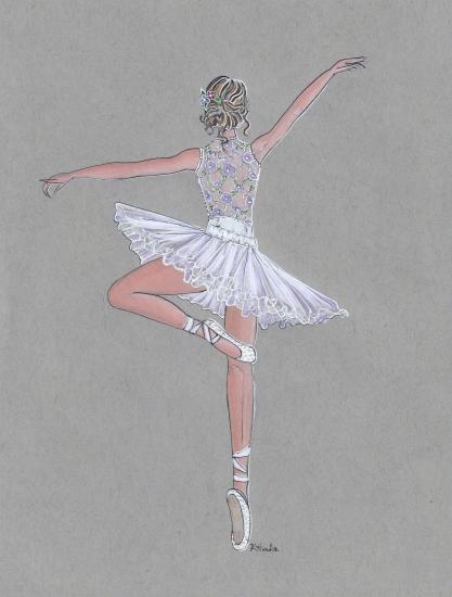 art prints - En Pointe by Kristina Heredia