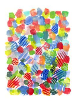 Polka Dots, Bubbles and Stripes