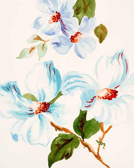 art prints - Vintage Dogwood by Melissa Hyatt