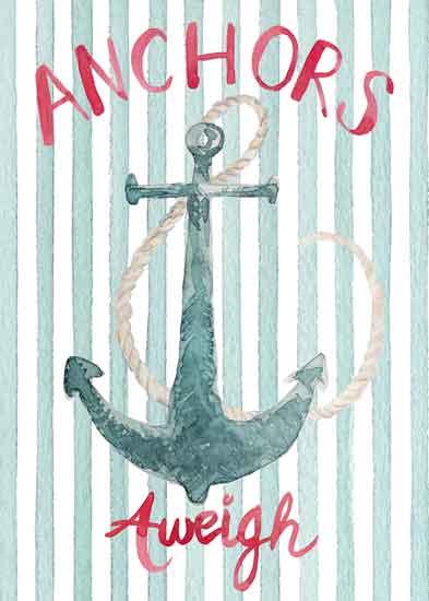 art prints - Anchors Aweigh by Melissa Hyatt