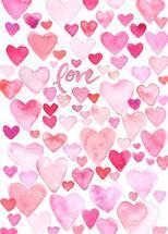 Love and Hearts by Melissa Hyatt